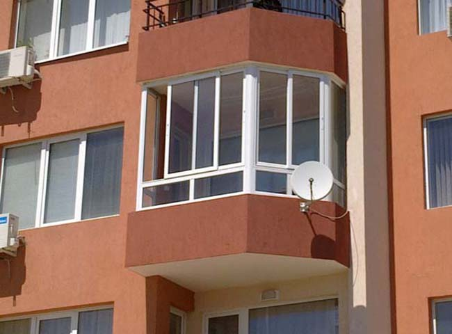 PVC и AL тераси